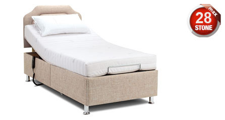 Single Adjustable Hampton Bed by Sherborne